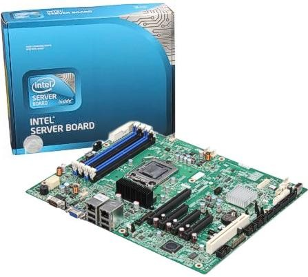 Placa Server S1200 (som / video / rede)