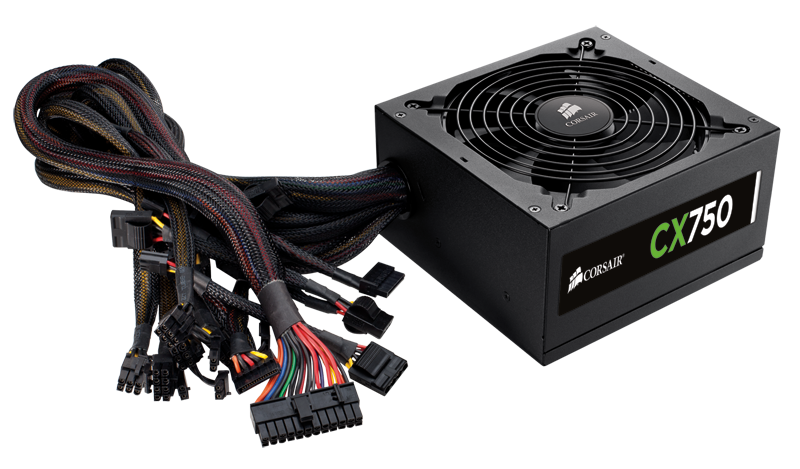 Fonte Real ATX 750W Power Supply CX Series