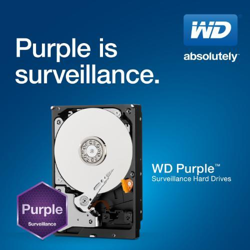 HD 1TB Sata III Purple (PC e DVR)