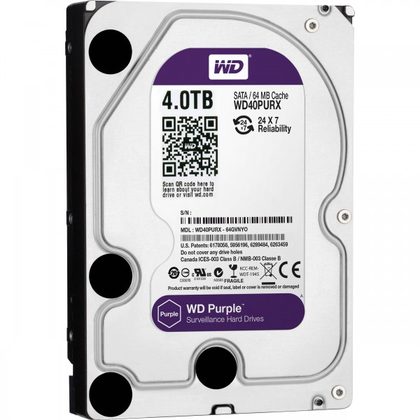 HD 4TB Sata III Purple (PC e DVR)
