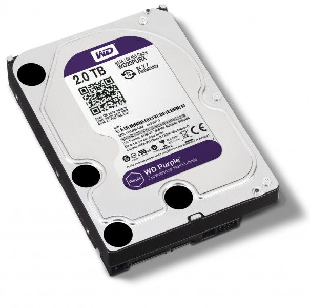 HD 2TB Purple (PC e DVR)