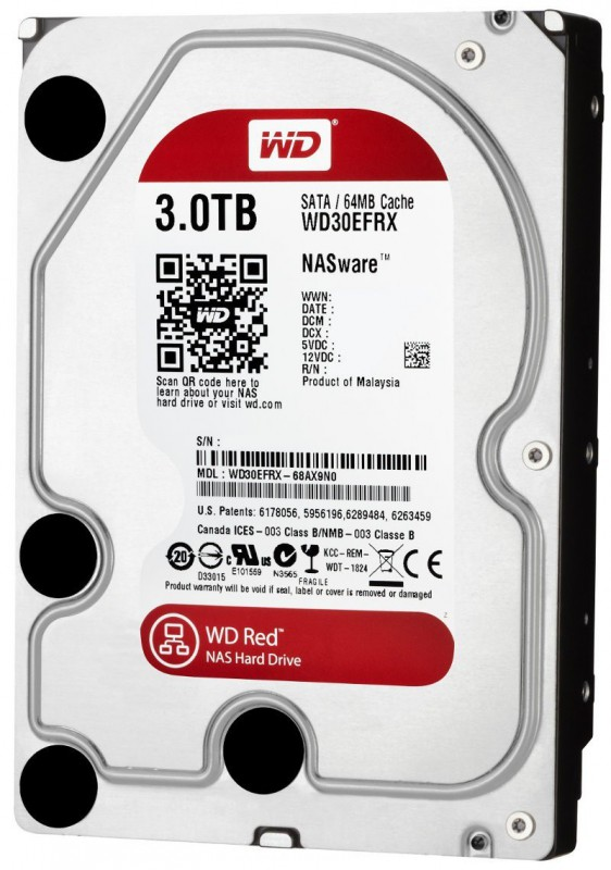 HD 3TB NAS Storage Red (PC e Server)