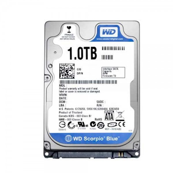 HD 1TB Sata 2 30GBS (Notebook)