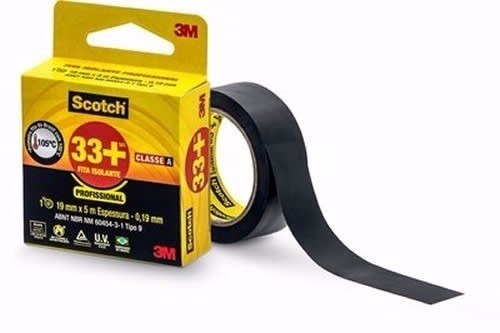 Fita Isolante 3M 33+ 19mm+5m