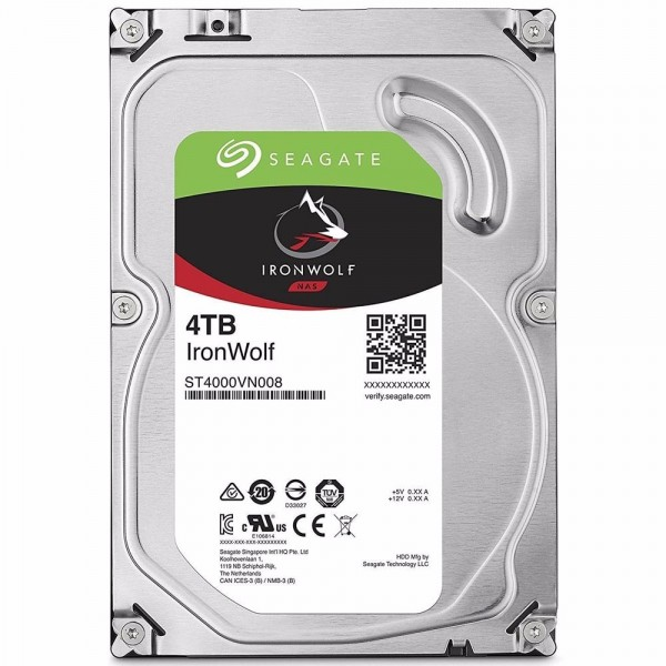 HD 4TB Sata NAS Storage (PC e Server)