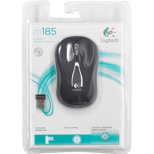 Mouse Wireless Nano Receptor Cinza
