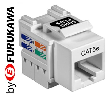 Conector RJ 45 Femea CAT5e Soho Plus